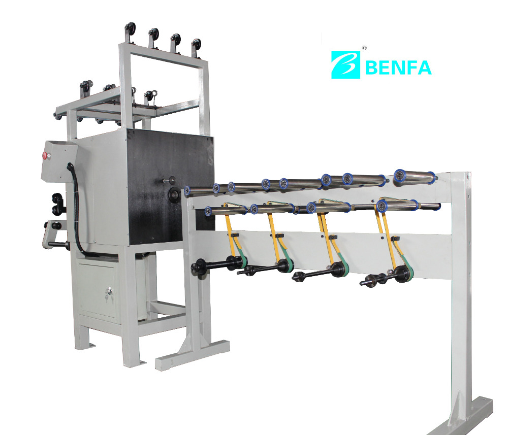 2017 BFHG-W steel wire producted Horizontal Hose Bobbin Winding Machine