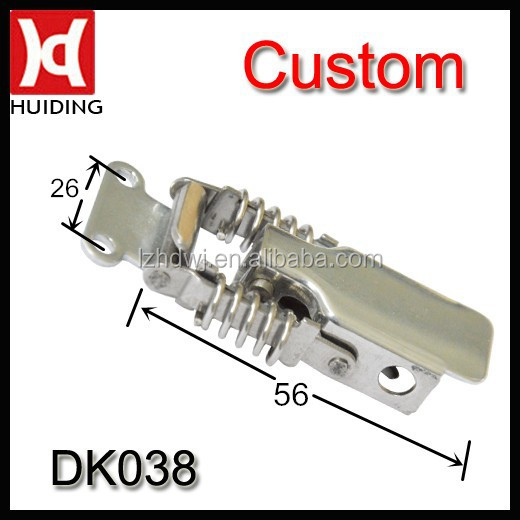 High quality spring loaded toggle latch / tool case lock / plastic case lock DK038