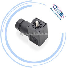 250V 10A PG7 3 Pole DIN 43650 solenoid valve conector, field wireable connector