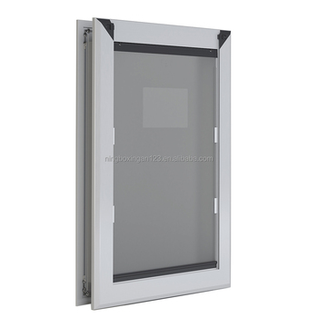 Freedom Aluminum Pet Door, Silver, Large
