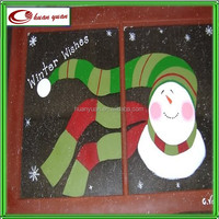 christmas window decals printed for 2014 new design
