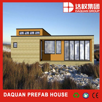 Chinese new style 2015 fashion Top Build prefab house/home/villa