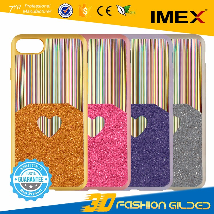 2017 Printing Custom 3d Mobile Phone Case Telephone Cover OEM TPU PC Case for iPhone 7 7 Plus