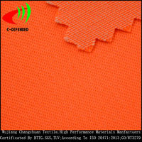 High Visibility Workwear fabric hi vis reflective polyester cotton fluorescent fabric
