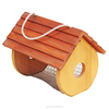 hot sale FSC wooden pet bird feeder cages house for crafts gift