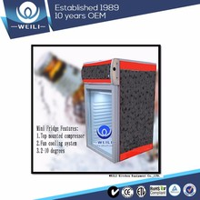 Complete specifications series of 55L desktop mini-bar refrigerator