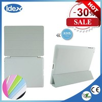 Wholesale Ultra Thin Slim Light Three Fold Silk Leather Cover For apple ipad air 128gb