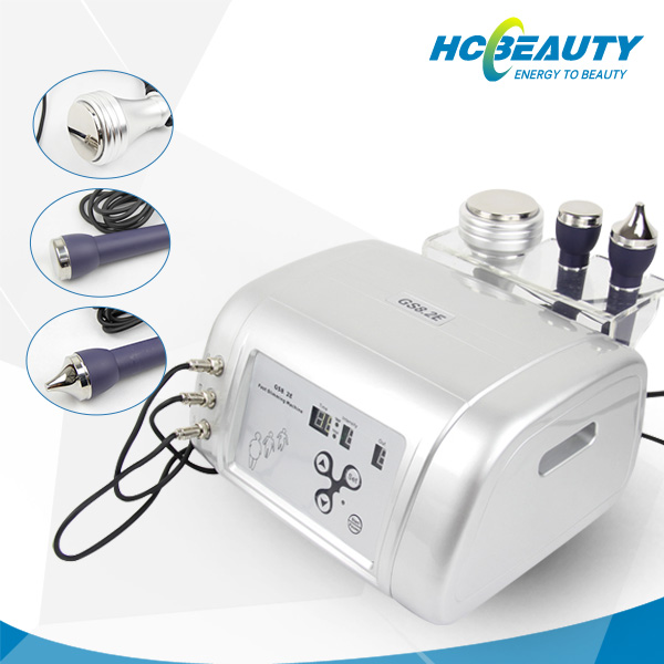 Promotional 3 in 1 ultrasonic cavitation belly fat reducing machine