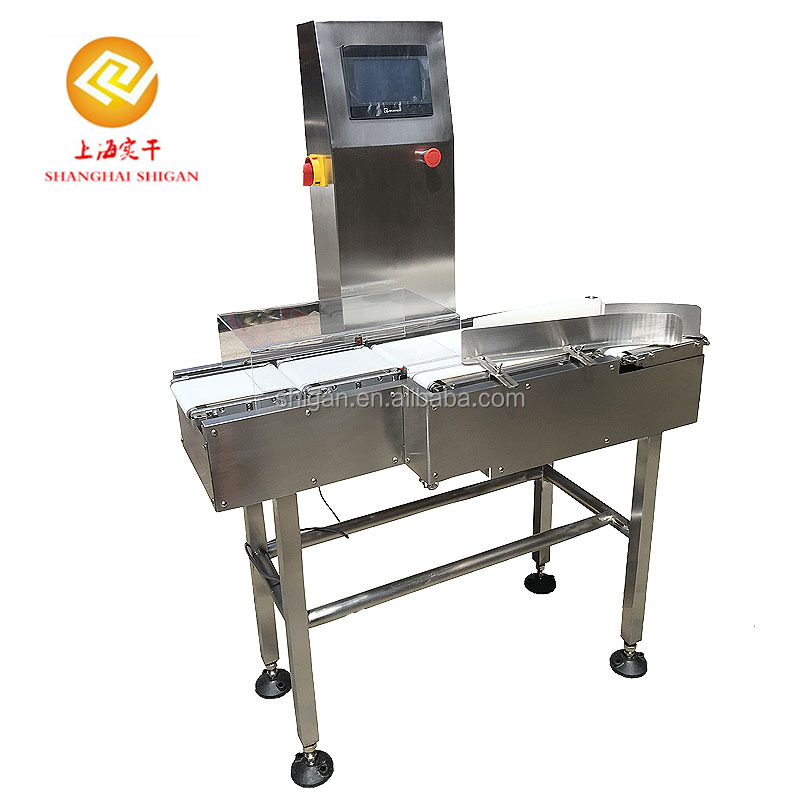 Conveyor belt automaic online check weigher for feed , chemical ,medicine ,cosmetic , food