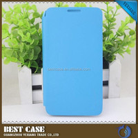 fashion design hard case for lenovo a850 leather flip case