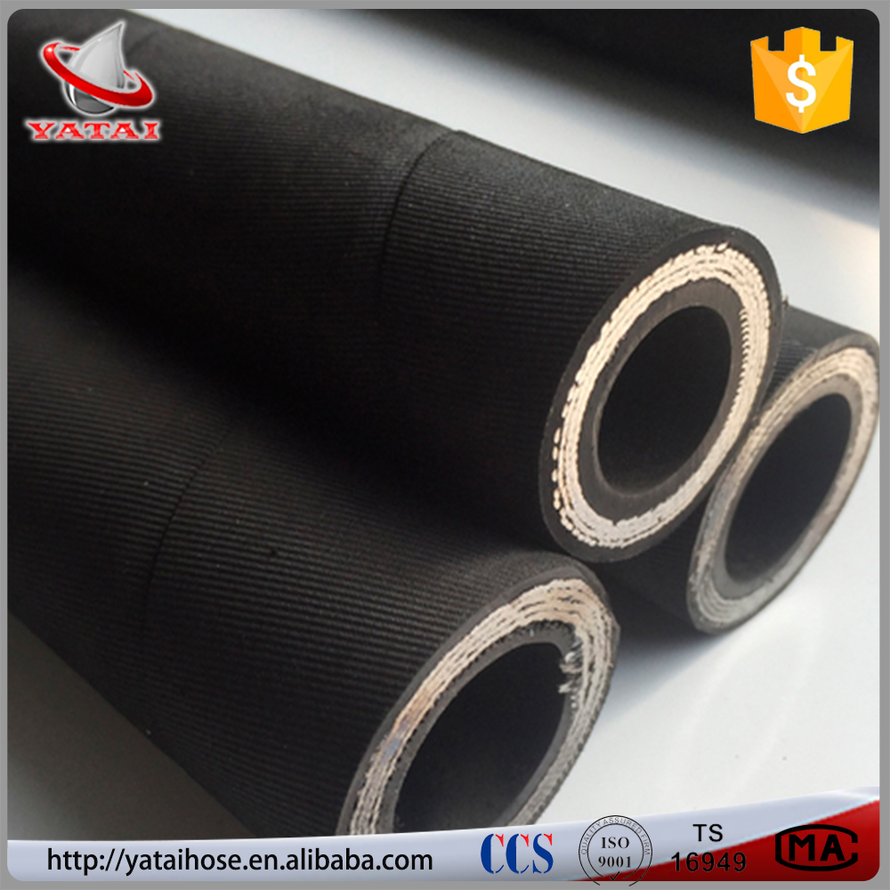 High Quality Products Hot Sale Black NBR Rubber DN 19 Excavator Hose
