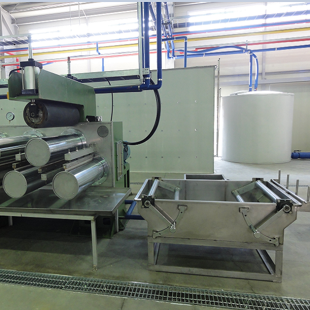 Dipping Bath and First Drafter for  BI-Component Automation Fiber Production Line (Flexible)