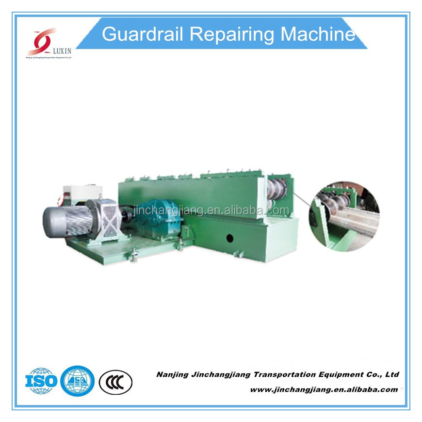 2017 Factory directly Guardrail Repair Machine for cold roll forming European standard China manufacturer