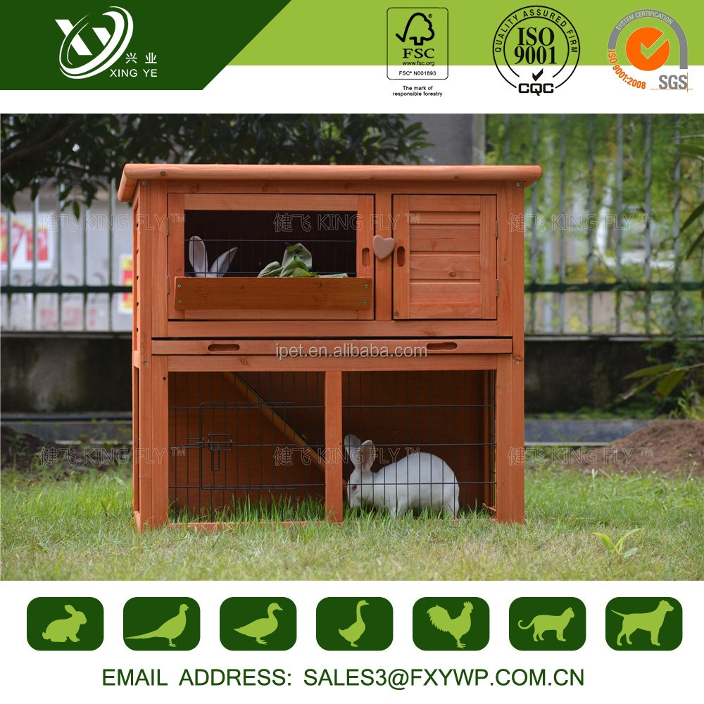Professional manufacture easily clean rabbit hutch trays