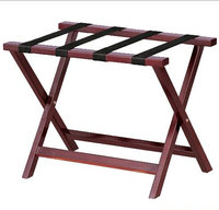 wooden luggage rack for hotel