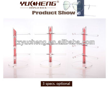 [YUCHENG] acrylic eyeglass counter display Y080