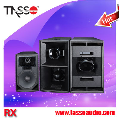 china factory pa system plastic tweeter speaker cabinet