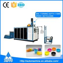 Full Automatic Plastic Packaging Cup Vacuum Thermoforming Machine