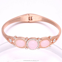 Women Accessories Rose Gold Platted Bangle