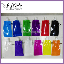 Wholesale folding water bottle customized reusable drink warter jug plastic