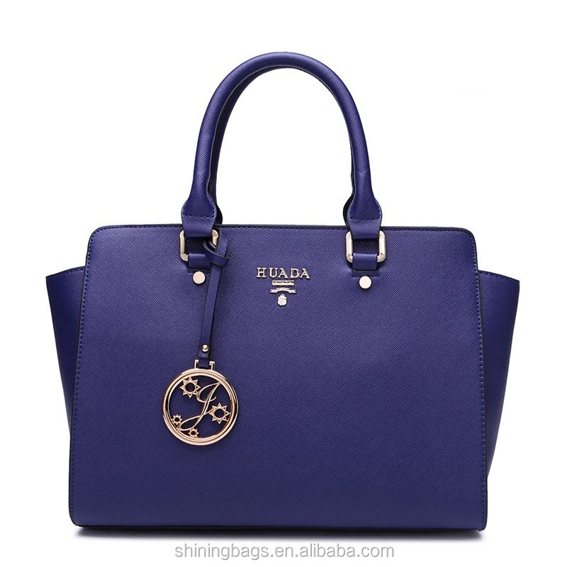 Fashion Designer Woman Handbag Stylish PU Leather Young Lady Handbag