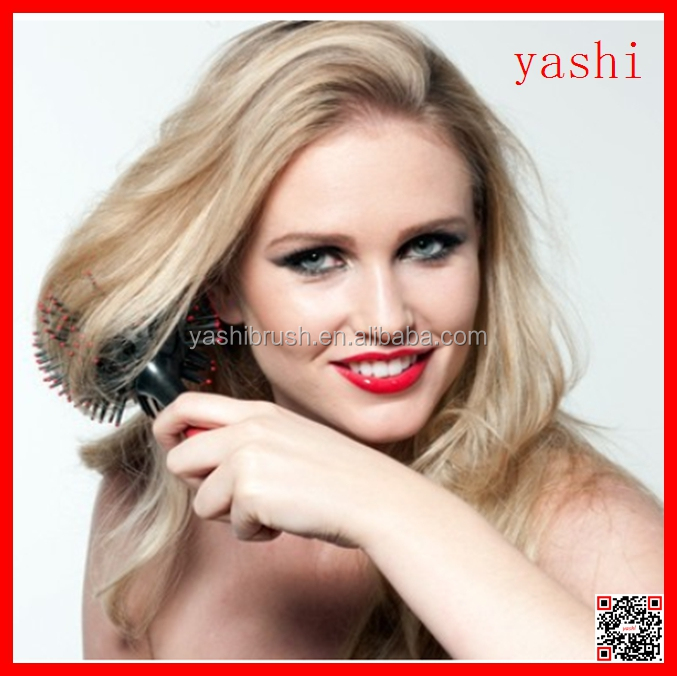 YASHI ball design Resistant Comb tool 3D round ball hair brush set in 2016