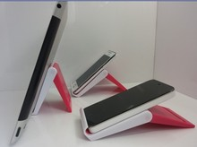 multiple folding mobile phone holder , cell phone desk stand , Mobile Handset stand