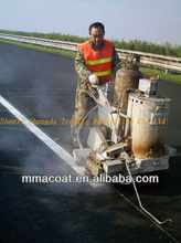 Thermoplastic oil paint raw materials for spray road marking