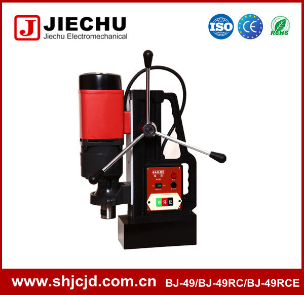 Heavy duty electric Tools BJ-49 tapping 30mm magnetic drill with chuck