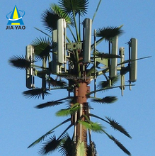 Camouflage steel gps antennas cell telecom gsm telecommunication artificial palm leaves tree towers