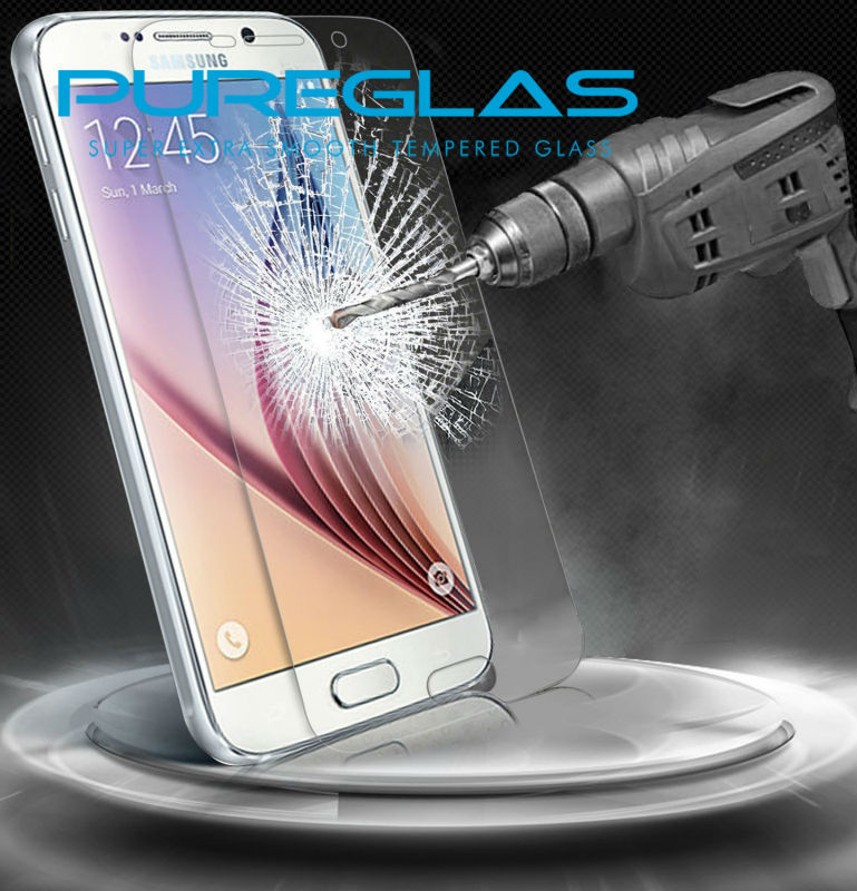 Nano technology 9h hardness anti-shock liquid screen protector for samsung s5/s6