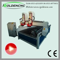 rotary axis cutting 4 axis wood make machine