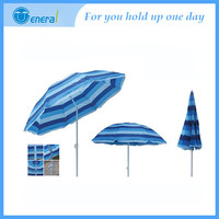 New feature Best selling Oxford fabric for Promotional beach umbrella