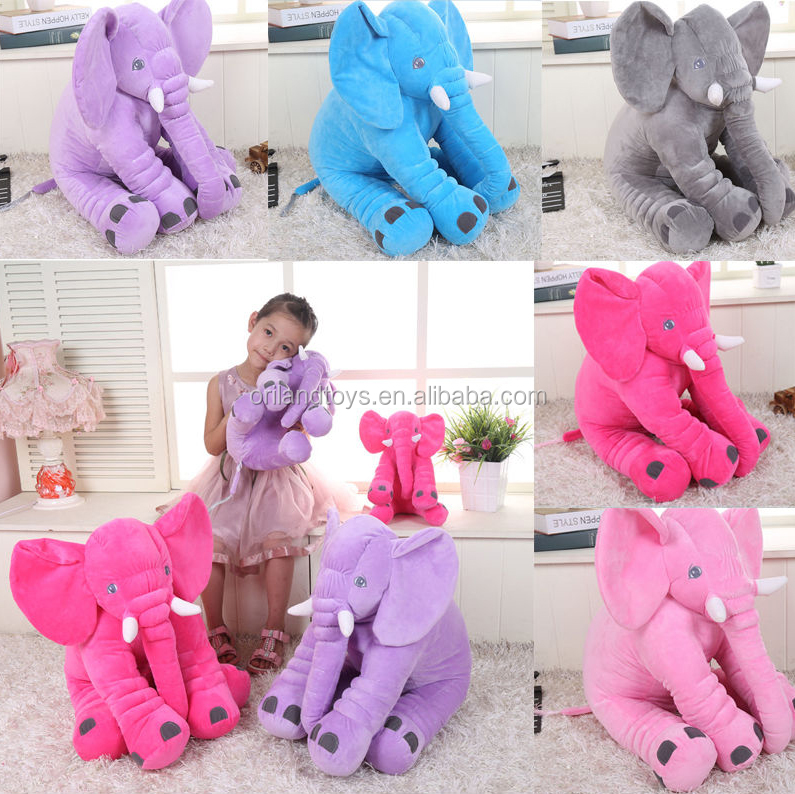 Over 34 years experience Wholesale pillow with big ears plush elephant