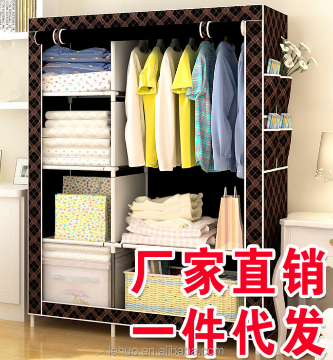 2015 Best Sale Wardrobe,Non Woven Closet Cheap Bedroom Wardrobe ,latest wardrobe door design