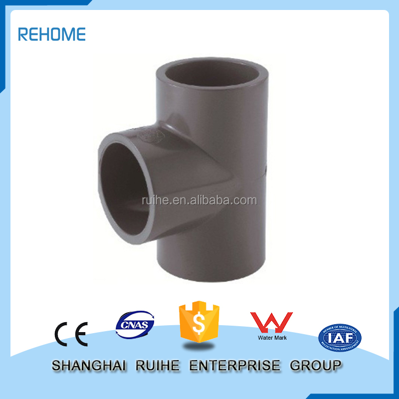 PVC pipe Fitting tee for water supply