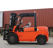 smaller turning radius internal combustion diesel forklift china diesel all terrain forklift