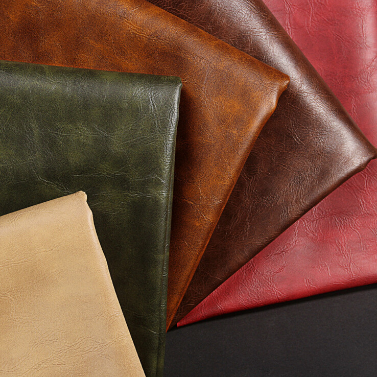 Good Quality Crazy Horse Synthetic Leather for Shoes