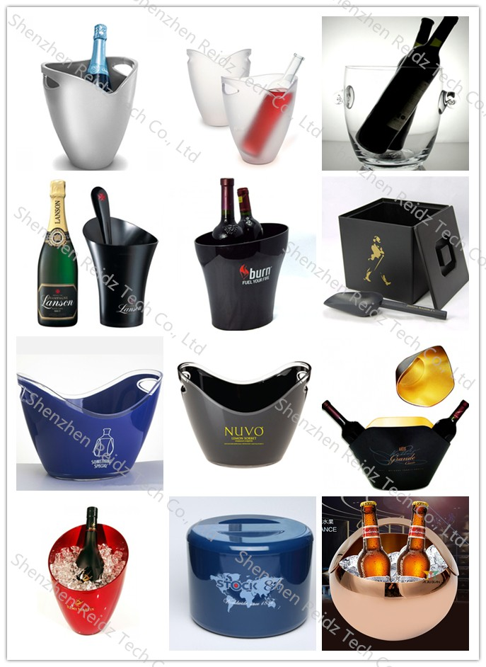 2016 customize bar pub ice buckets for beer