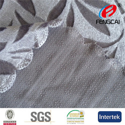 100%polyester pvc anti-slip backing sofa cover fabric Size:180x220cm 4 sides wavy laser cut