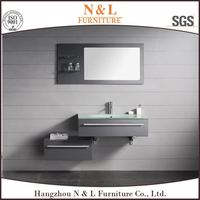 ML-8911 Calm Black Simple Euro Style Bathroom Vanity