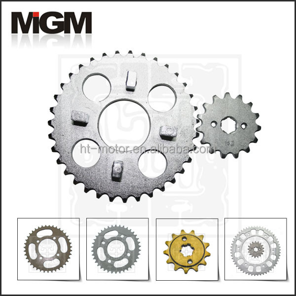 Motorcycle sprocket manufacture, DAX sprockets set 15T-53T
