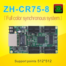 ZH-CR75-8 Zhonghang p10 p7 p3 p6 p5 full color led screen module controller card