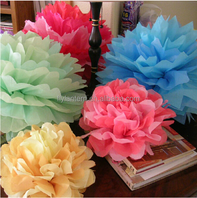 Hot Sale 8 20 Cm Diy Paper Flower Hanging Balls For Wedding