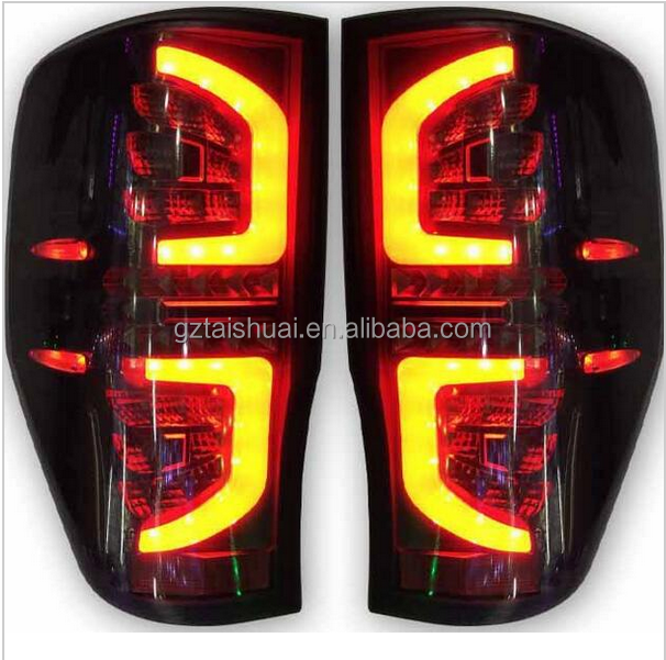 Pickup Truck 4X4 Accessories Car Rear Led Lamp Tail light For Ranger
