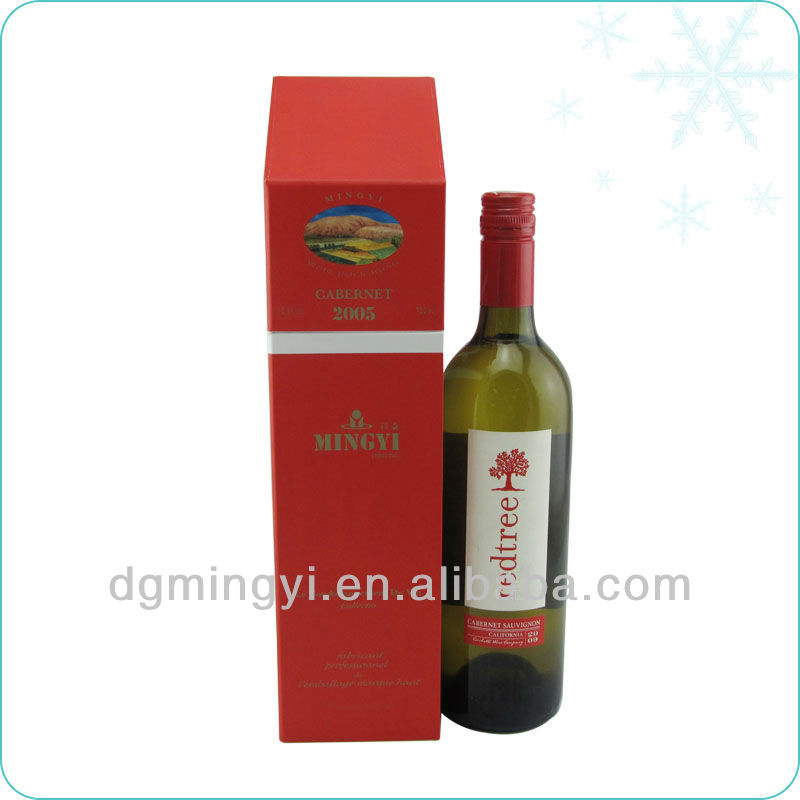 cardboard wine boxes with lid