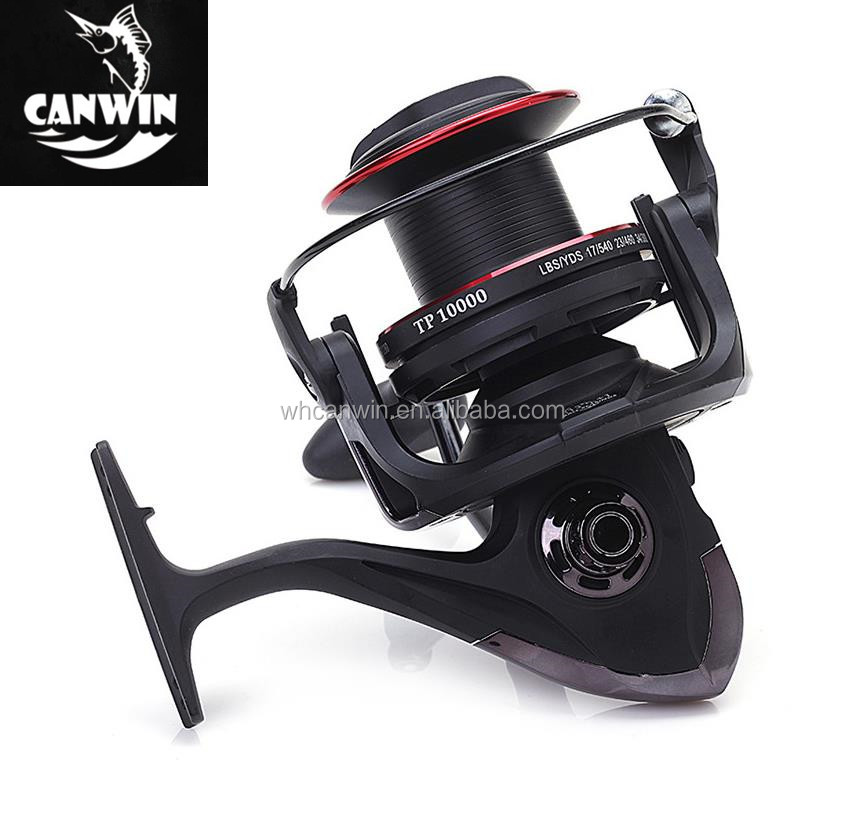 Offshore Fishing Reel Long Cast Spool 13+1BB for Surf Casting Ocean Sea Fishing Reel