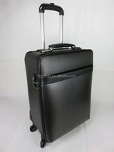 factory custom luxury grade 20 inch carbon fiber trolley suitcase