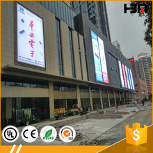 used outdoor lighted signs advertising product snap frame light box 120mm deep