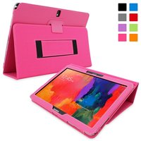 Snugg case for case for Galaxy Note PRO 12.2 - Smart Cover with Flip Stand & Lifetime Guarantee (Hot Pink Leather)